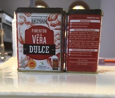 Alerta por Salmonella spp en pimentón dulce procedente de España